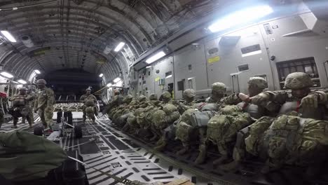 Paratroopers-From-the-Us-Armys-Airborne-Brigade-Jump-From-Planes-Demonstrating-A-Joint-Forcible-Entry-Operation-Guam-1