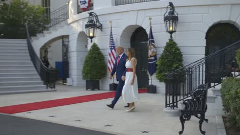 Us-President-Donald-Trump-Narrates-A-Compilation-Of-Clips-From-the-Fourth-Of-July-Celebration-In-Washington-Dc