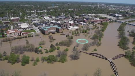 Flooding-Along-the-Tittabawassee-River-Resulting-From-the-Breach-Of-Edenville-And-Sanford-Dams-At-Midland-Michigan-1