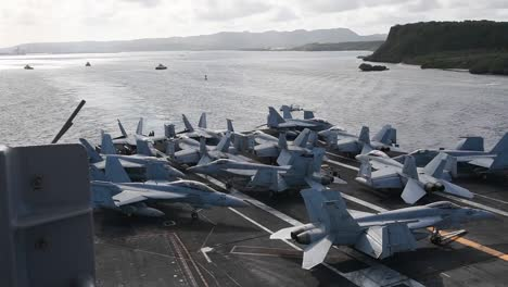 Us-Navy-Nuclear-Aircraft-Carrier-Uss-theodore-Roosevelt-Departs-Apra-Harbor-Guam-During-the-Covid19-Pandemic-3