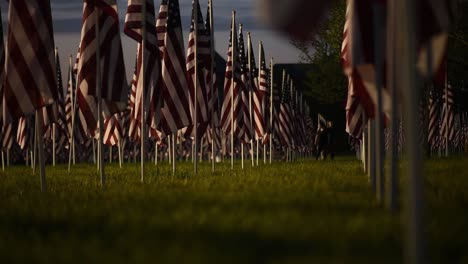 Memorial-Day-Field-Of-Heroes-Display-In-Westerville-Ohio-Honoring-those-Who-Died-In-Service-To-the-United-States