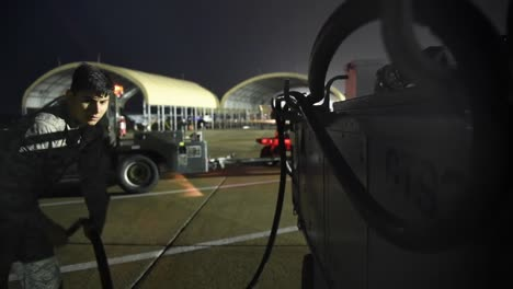 Air-Force-334th-Amu-Weapons-Personnel-Perform-Night-Time-Operations-At-Seymour-Johnson-Air-Force-Base-Nc
