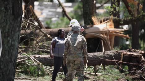 Us-Marines-Clear-Debris-And-Rescue-A-Dog-During-the-Recovery-Effort-From-Hurricane-Isaias-Camp-Lejeune-North-Carolina