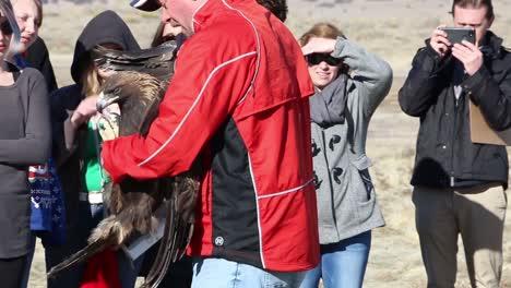 Dpg-Medio-Ambiente-Libera-Aves-Rapaces-Heridas-Del-Cautiverio-En-El-Desierto-Cerca-De-Dugway-Probando-Terrenos-Utah-3