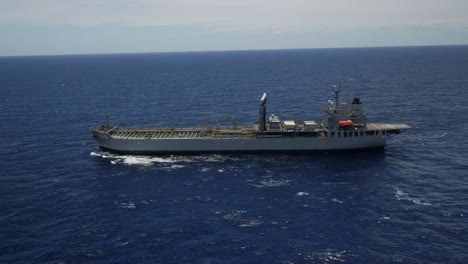 Aerials-Of-Multinational-Ships-Sailing-In-Formation-During-the-Strategic-Naval-Exercise-Rim-Of-the-Pacific-2
