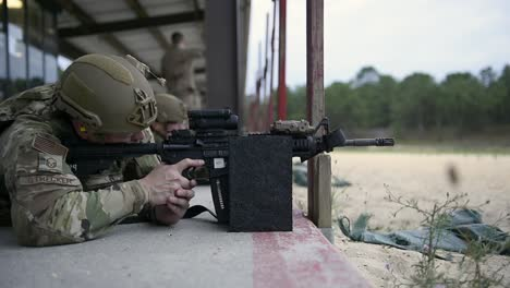 621St-Mobility-Support-Operations-Squadron-Firing-Range-For-Weapons-Qualification-At-Joint-Base-Mcguiredixlakehurst-Nj-2
