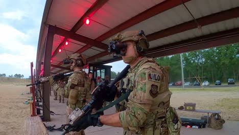 621St-Mobility-Support-Operations-Squadron-Firing-Range-For-Weapons-Qualification-At-Joint-Base-Mcguiredixlakehurst-Nj-3