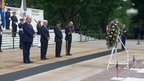 President-Trump-Vicepresident-Pencedefense-Secretary-Esper-Memorial-Day-Ceremony-At-Arlington-National-Cemetery-3