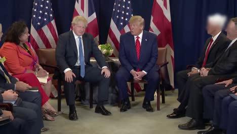 El-Presidente-Donald-Trump-Se-Reúne-Con-El-Primer-Ministro-Británico-Boris-Johnson-En-Washington-Dc