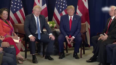 British-Prime-Minister-Boris-Johnson-Meets-President-Trump-And-Responds-To-Questions-About-Misleading-the-Queen