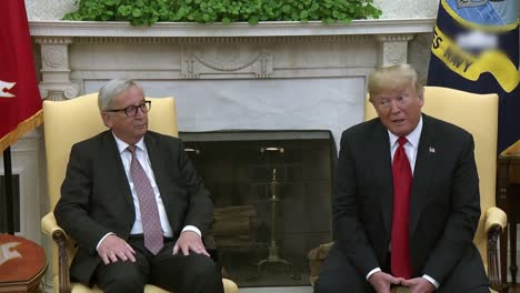 American-President-Donald-Trump-Meets-European-Commission-President-Jeanclaude-Junker-In-the-White-House-3
