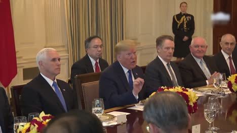 President-Trump-And-Trade-Representatives-White-House-Meeting-With-the-Vice-Chairman-Of-the-Peoples-Republic-Of-China-3