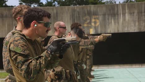 31St-Expeditionary-Reconnaissance-Platoon-Marines-In-Combat-Marksmanship-Training-Camp-Hansen-Okinawa