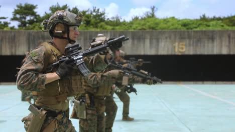 31St-Expeditionary-Reconnaissance-Platoon-Marines-In-Combat-Marksmanship-Training-Camp-Hansen-Okinawa-2