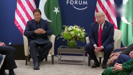 El-Presidente-Estadounidense-Donald-Trump-Y-El-Primer-Ministro-Paquistaní-Imran-Khan-Durante-La-Conferencia-De-Prensa-2-Del-Foro-Económico-Mundial