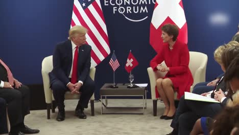Us-President-Donald-Trump-And-Simonetta-Sommaruga-President-Of-the-Swiss-Confederation-World-Economic-Forum-1