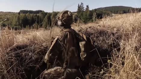 A-Czech-Joint-Attack-Controller-Calls-In-A-Close-Air-Support-Air-Strike-During-A-Nato-Exercise-In-the-Czech-Republic