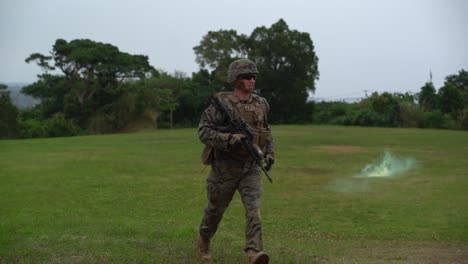 Us-Marines-Simulate-Casualty-Extraction-Of-Critically-Wounded-Soldiers-At-Lz-Owl-Ginoza-Okinawa-Japan-2