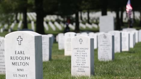Us-Marines-In-Dress-Uniform-Lay-A-Fallen-Soldier-To-Rest-At-Arlington-National-Cemetery-Washington-7