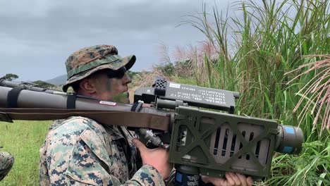 Us-Marines-With-3Rd-Low-Altitude-Air-Defense-Battalion-Conduct-Ground-threat-Reaction-Training-Okinawa-Japan-4