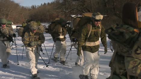 Us-Army-And-Marines-Use-Snowshoes-Ahkio-Sleds-And-Winter-Survival-Gear-Fort-Mccoy-Coldweather-Course-Wi