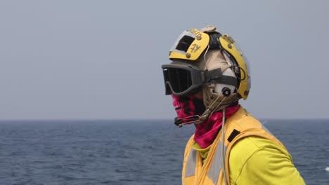 Us-Navy-Boatswains-Mate-Signals-A-Indian-Navy-Sea-King-42C-Landing-On-the-Uss-John-S-Mccain-Malabar