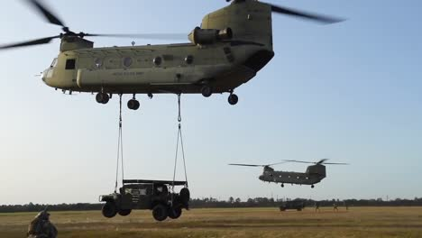 Soldiers-Airmen-And-Chinook-And-Black-Hawk-Helicopter-Operations-During-Training-Exercise-Guardian-Shield-2