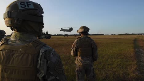 Soldiers-Airmen-And-Chinook-And-Black-Hawk-Helicopter-Operations-During-Training-Exercise-Guardian-Shield-3