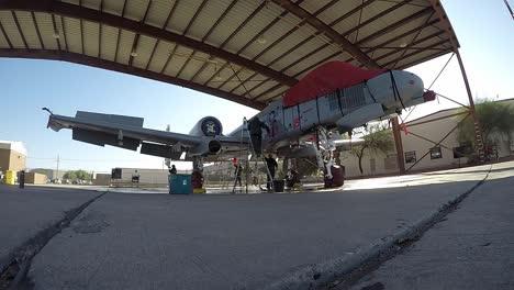 Timelapse-Us-Air-Force-A10-thunderbolt-Ii-Fighter-Jet-Demonstration-Team-Broll-Summer-Air-Show-Season