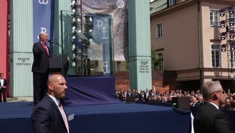 Us-President-Trump-Addresses-the-Polish-People-While-Talking-About-the-Price-Of-Freedom-And-Sacrifice