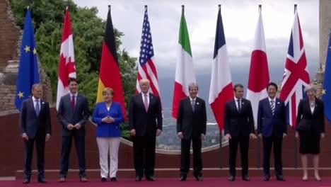 El-Presidente-Estadounidense-Trump-Habla-Sobre-Los-Avances-En-Su-Viaje-Internacional-A-Saudia-Arabia-Isreal-Y-Otan
