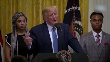Us-President-Donald-Trump-Speaks-To-African-Americans-Young-Black-Leadership-Summit-At-the-White-House-10