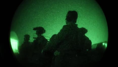 Us-Marine-Training-Exercise-Falcon-Sentry-Including-Green-Night-Scope-Clips-Desert-Of-the-United-Arab-Emirates