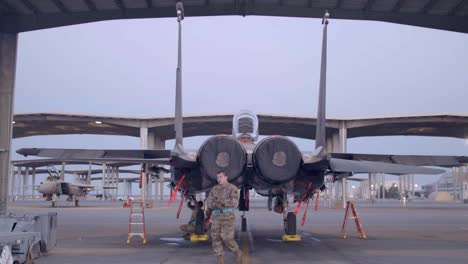 Us-Air-Force-Armaments-Systems-Specialists-Load-Weapons-Onto-An-F15E-At-Mountain-Home-Air-Force-Base-Id-1