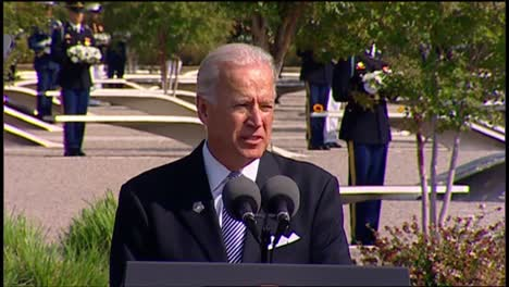 Us-Vice-President-Joe-Biden-Speaks-To-Politician-Military-And-Families-Pentagon-9/11-Observance-Arlington-Va-14