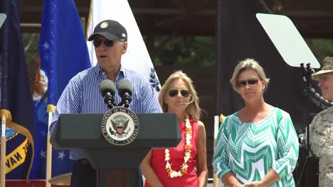 Us-Vice-President-Joe-Biden-And-Dr-Jill-Biden-Speak-To-Military-At-Joint-Base-Pearl-Harborhickham-Hawaii