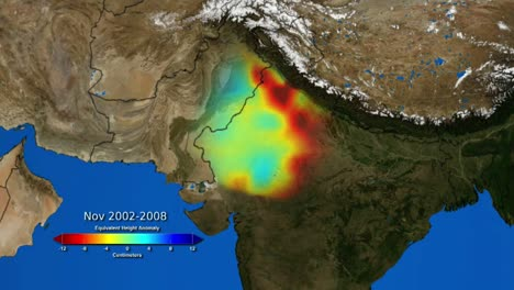 The-Nasa-Grace-Mission-Maps-The-Loss-Of-Groundwater-In-India