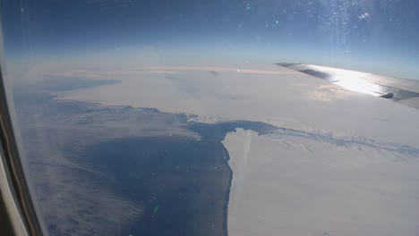 Aerial-Views-Over-The-Global-Ice-Shelf-In-Antarctica-Shot-From-A-Plane