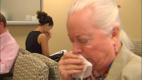 At-A-Doctors-Office-People-Display-Flu-Like-Symptoms-3