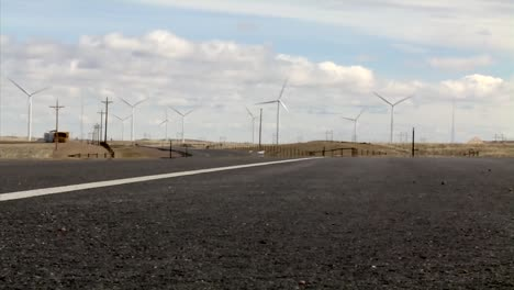 Various-Shots-Of-Wind-Farms-Near-Cheyenne-Wyoming