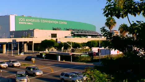 A-Solar-Panel-Array-Is-Used-On-A-Parking-Structure-In-Los-Angeles-At-The-La-Convention-Center