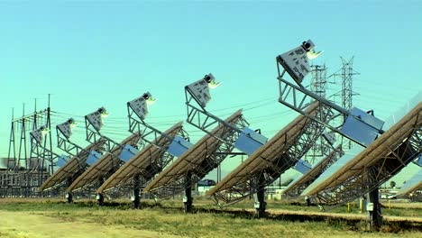 Various-Shots-Of-A-Solar-Dish-Farm-2