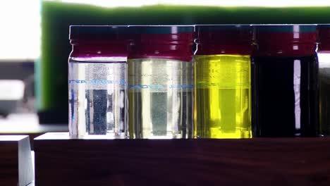 Muestras-De-Biocombustible-Derivado-De-Algas-Se-Encuentran-En-Un-Estante