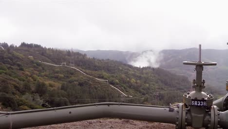 A-Geothermal-Power-Plant-Generates-Electricity