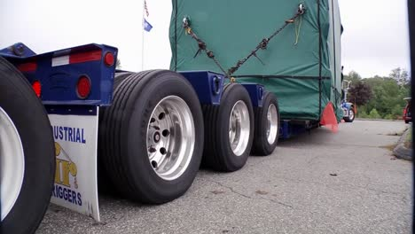 An-Oversize-Load-Is-Transported-On-A-Highway