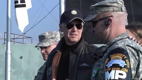 Us-Vice-President-Joe-Biden-Visits-the-Demilitarized-Zone-(Dmz)-At-Panmunjong-While-Traveling-To-Korea