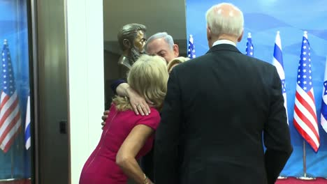 Us-Vice-President-Joe-Biden-And-Jill-Biden-Meet-Isreali-Prime-Minister-Benjamin-Netanyahu-In-Jeresualem-Isreal