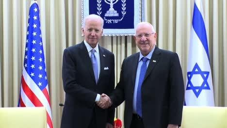 Us-Vice-President-Joe-Biden-Meets-Isreali-President-Reuven-Rivlin-At-the-Presidents-Residence-In-Jerusalem-Isreal
