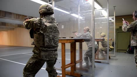 Us-Army-Soldiers-With-Allied-Forces-North-Battalion-M17-Pistol-Marksmanship-Training-Chievres-Air-Base-Belgium-2