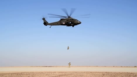 National-Guard-Task-Force-Javalin-Soldiers-And-Uh60-Black-Hawk-Helicopter-Prince-Sultan-Air-Base-Saudi-Arabia